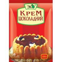 Крем заварний з ароматом шоколаду 100 г