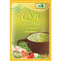 Суп гороховий з грінками смак бекону 20 г