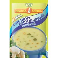 Суп-пюре картопляний грибний 16 г