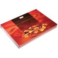 Фініки з грецьким горіхом в шоколаді 200 г